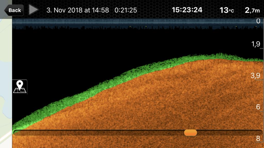 Deeper Pro+ Live View Plateau